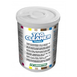 TAG CLEANER LINGETTES