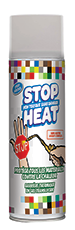 spray stop heat